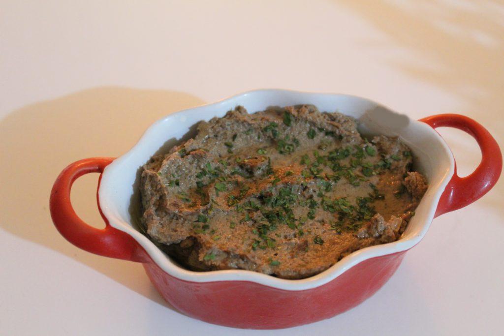 cocotte de mousse de foie de volaille