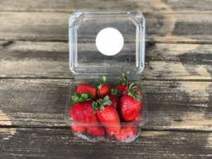 Barquette fraises