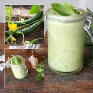 soupe concombre menthe