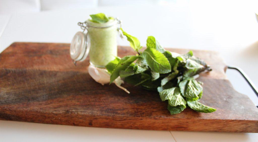 soupe de concombre menthe
