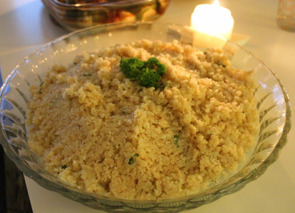 riz de chou fleur