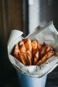 frites de patate douces